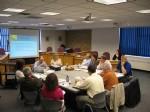 The May 9 EDA meeting
