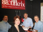 The Locally Grown crew and guest Lee Lansing