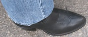 Larry Fowler's boot