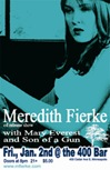 Meredith Fierke CD release poster