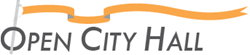 open city hall logo