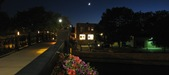 downtown Northfield - night