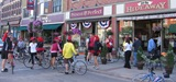 Red Ribbon Ride bikers