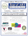 tour d art flyer 2009