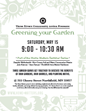 Greening Your Garden flyer