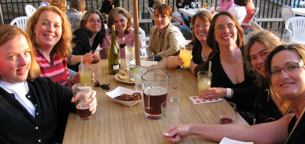 "Girls Nite Out, Northfield MN It's a bastion of bar culture: ""Ladies' Night"