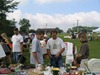 Northfield 4th of July flea market in Ames Park