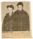 Dale Snesrud and Leroy Fossum, 1944