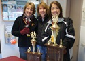 Center: Northfield Raiders Team Manager Cheryl Buck and friends