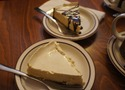 London cheesecake at Pan Pan Cafe in Nothfield, MN