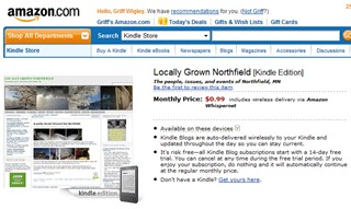 Subscribe to Locally Grown on the Amazon Kindle