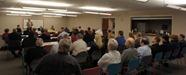 Kelby Woodard and Al DeKruif at NDDC/Chamber forum