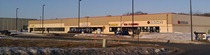 Strip mall in Dundas next to Menard's