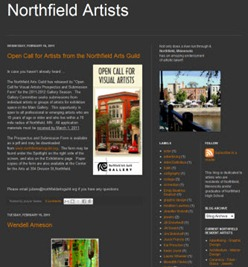 Northfield Artists blog