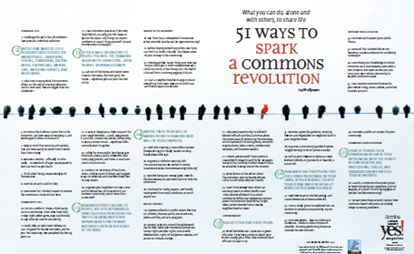 51 ways to spark a commons revolution