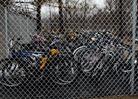 College campus bikes