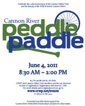 Cannon River Peddle Paddle