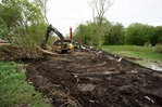 Construction of East Cannon River Trail in Northfield