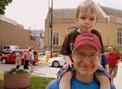 Mark Murphy and grandson