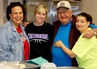 Dick Gunter with other volunteers at the Cuyuna Range Youth Center