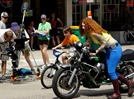 Northfield film shoot: Girl Meets Bike