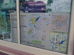 Tourism map, downtown Lanesboro