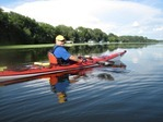 Marshal Wright, instructor, Learn to Kayak