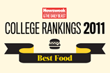 Newsweek - Best Food - College Rankings 2011