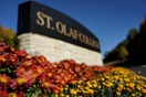 Fall colors at St. Olaf