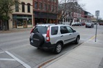 compact car parking spot on Division at 3rd