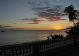 sunset in Esperanza, PR