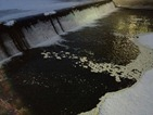 ice circle below the Ames Mill dam