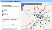 Northfield police incident mapping 4th qtr 2011