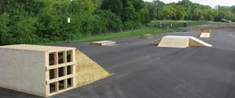 2009 temporary skatepark at Babcock Park
