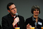 State Reps. Pat Garofalo, R-Farmington, and Mindy Greiling, DFL-Roseville, seen here in a file photo, are key players in education issues in this year&#39;s legislative session. (MPR File Photo/Tom Weber)