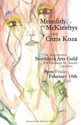Left-Handed Entertainment Presents Meredith and The McKinstrys with Chris Koza