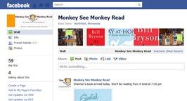 Monkey See Monkey Read Facebook page