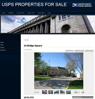 Northfield US Post Office building for sale
