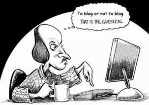 Shakespeare blogger