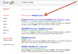 Google search for Gooter's