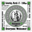 2012 St. Patrick's Day poster - Northfield, MN