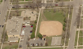 Washington Park - aerial view