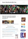 Cannon Valley Mountain Bike Team blogsite