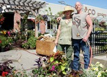 Jeni and Howie Holt, Eco Gardens 