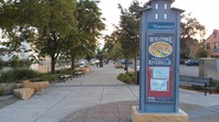 kiosk, Sesquicentennial Plaza, Northfield
