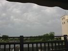 June 17, 2010: the mildly ominous sky that triggered storm sirens