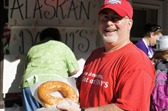 Ross Currier and the Crazy Daze Alaskan donut