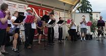 Bridge Square Band debuts at Taste of Northfield 2012