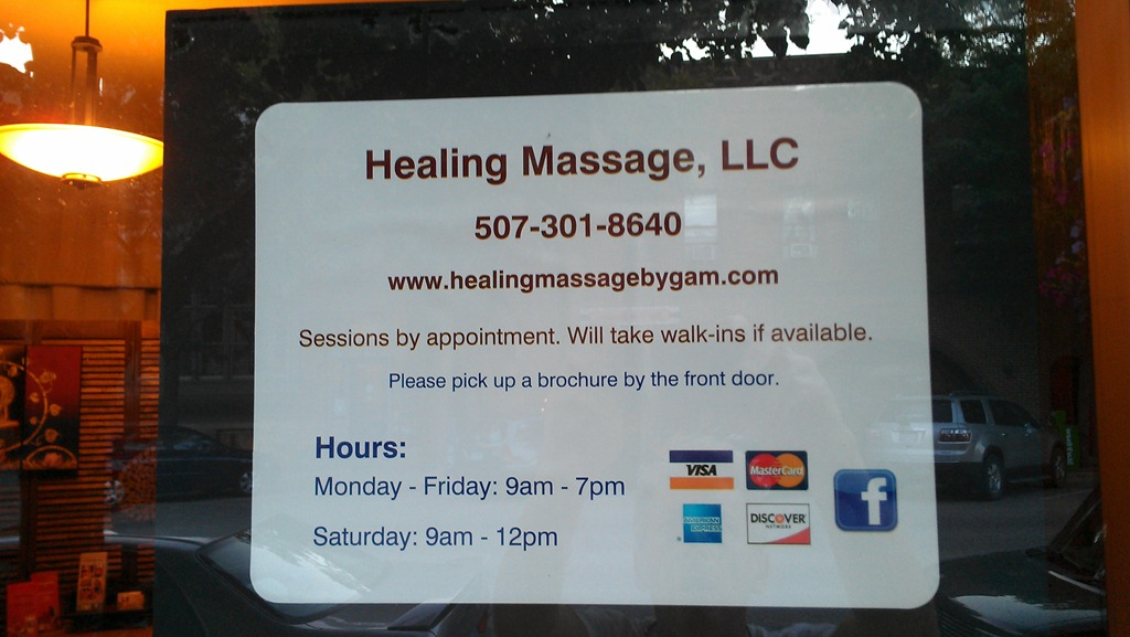 Healing Thai Massage Webster