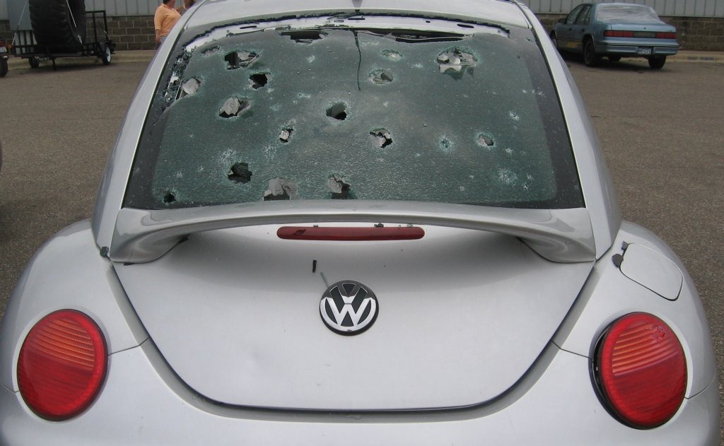 Unlike 2006, Dokmo Ford Chrysler can actually sell the hail-damaged ...